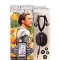 RETRAK Sport Armband Large černé + sportovní sluchátka do uší