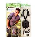 RETRAK Sport Armband Large zelené + sportovní sluchátka do uší
