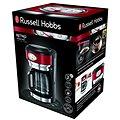 Russell Hobbs Retro Red Glass C/Maker 21700-56