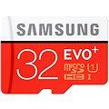 Samsung micro SDHC 32GB EVO Plus Class 10 UHS-I + SD adaptér