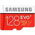 Samsung MicroSDXC 128GB EVO Plus Class 10 UHS-I + SD adaptér