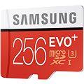 Samsung MicroSDXC 256GB EVO Plus Class 10 UHS-I + SD adaptér