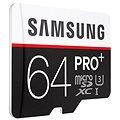 Samsung micro SDXC 64GB PRO Plus Class 10 UHS-I + SD adaptér