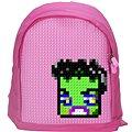 Pixelový batoh 12 růžový
