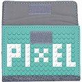 Pixelová peněženka růžová 07