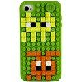 Pixelové pouzdro na iPhone 4/4S fialové