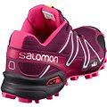 Salomon SpeedCross 3 W Bordeaux 5
