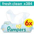 Pampers Fresh Clean (6 x 64 ks)