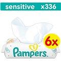 Pampers Wipes Sensitive (6 x 56 ks)
