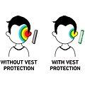 Vest Anti-Radiation pro iPhone 6 Plus a iPhone 6S Plus černý