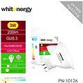 Whitenergy SMD2835 MR16 GU5.3 3W - bílá mléčná