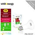 Whitenergy SMD2835 R63 E27 8W - bílá mléčná 4ks