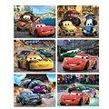 Dino dřevěné kostky kubus - Cars 2
