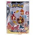 Pokémon - set 3 figurek Evolution Charmander