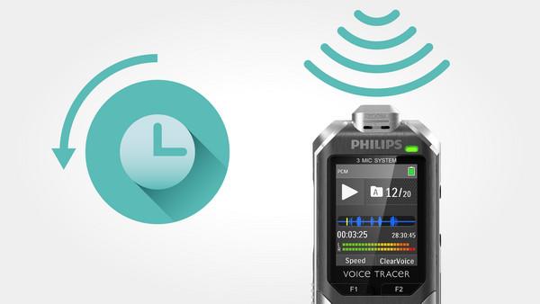 Philips DVT6000 černo-stříbrný