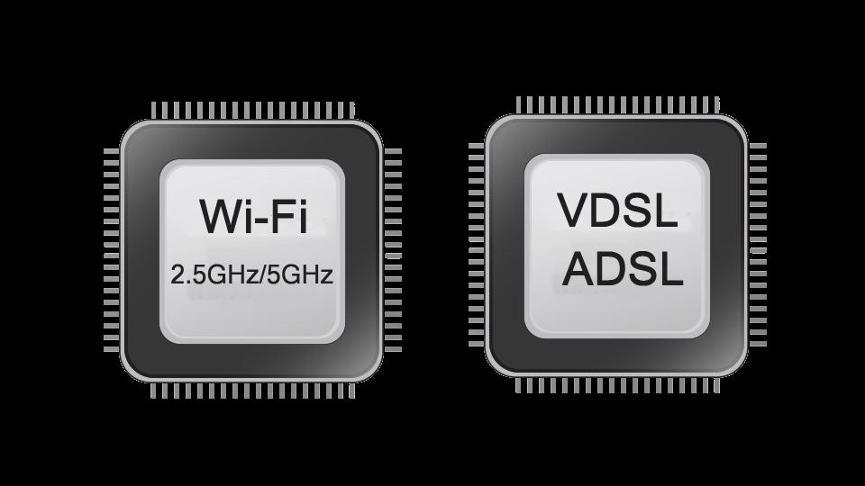 VDSL2 modem ASUS DSL-AC68U