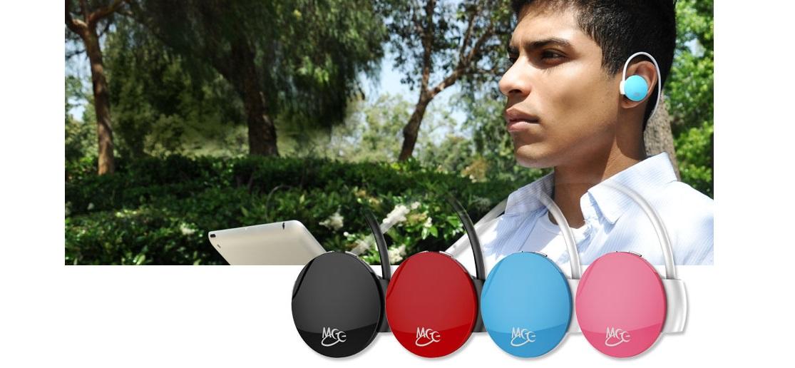 Sluchátka s mikrofonem MEElectronics Journey růžová