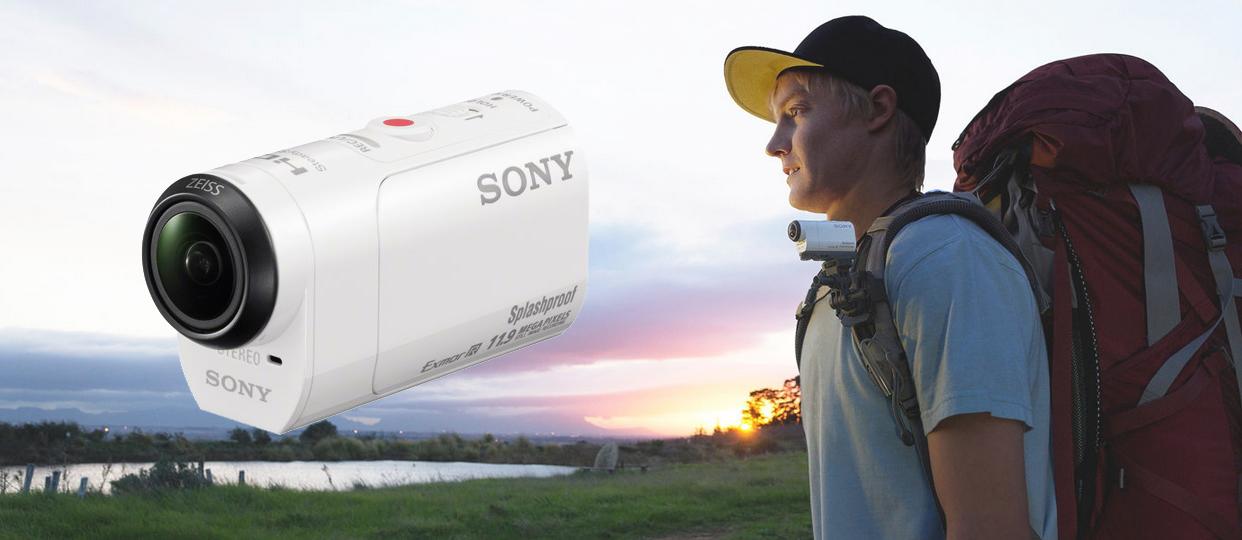 Digitální kamera Sony HDR-AZ1 mini