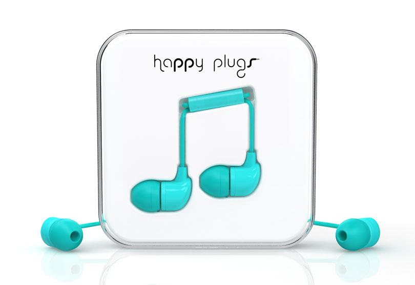 Sluchátka Happy Plugs In-Ear