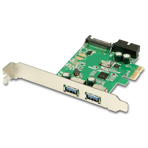 2x externí a 2x interní USB 3.0 porty