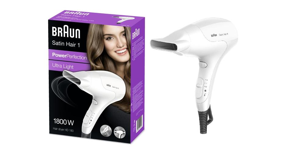 Fén na vlasy BRAUN Satin Hair 1