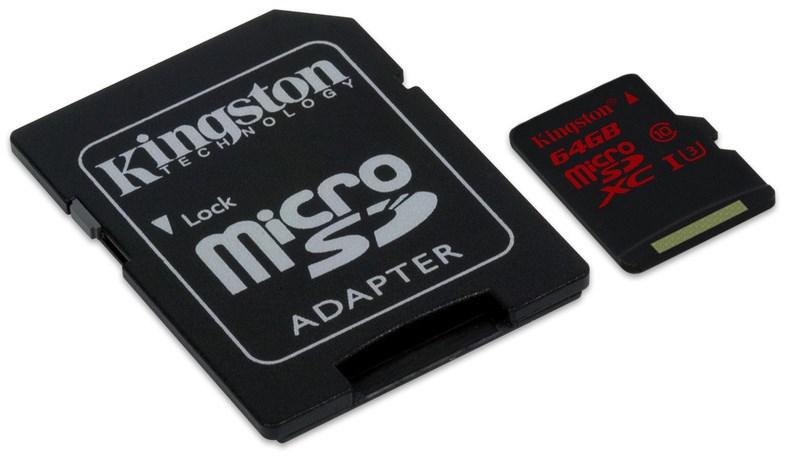Kingston Micro SDXC 64GB