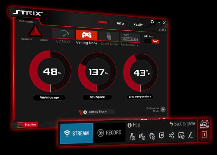 S GPU Tweak II si svou grafickou kartu snadno přetaktujete.