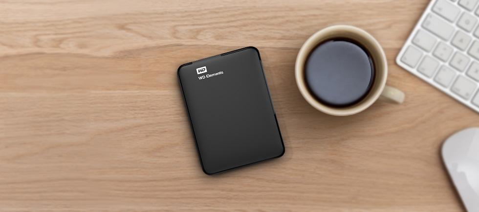 "WD 2.5"" Elements Portable 750GB černý"