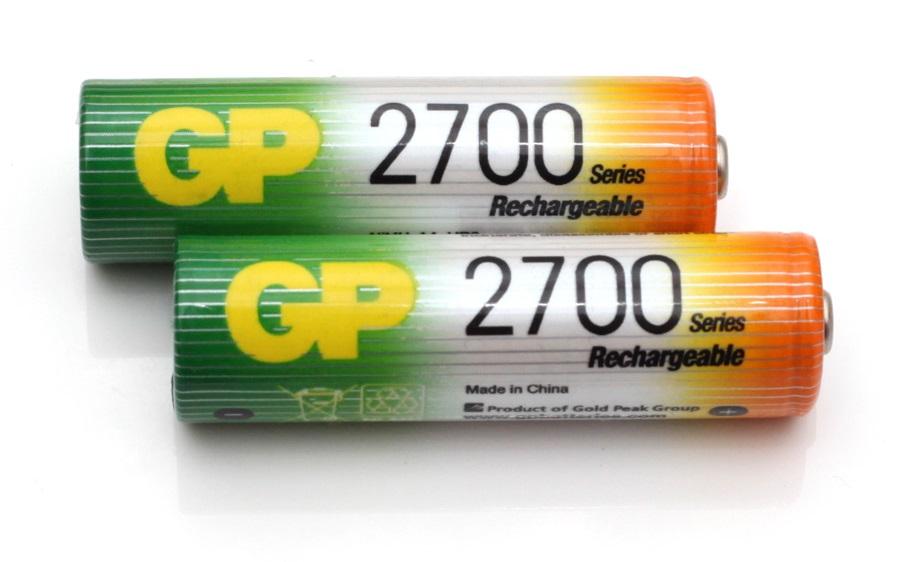 Akumulátory GP AA