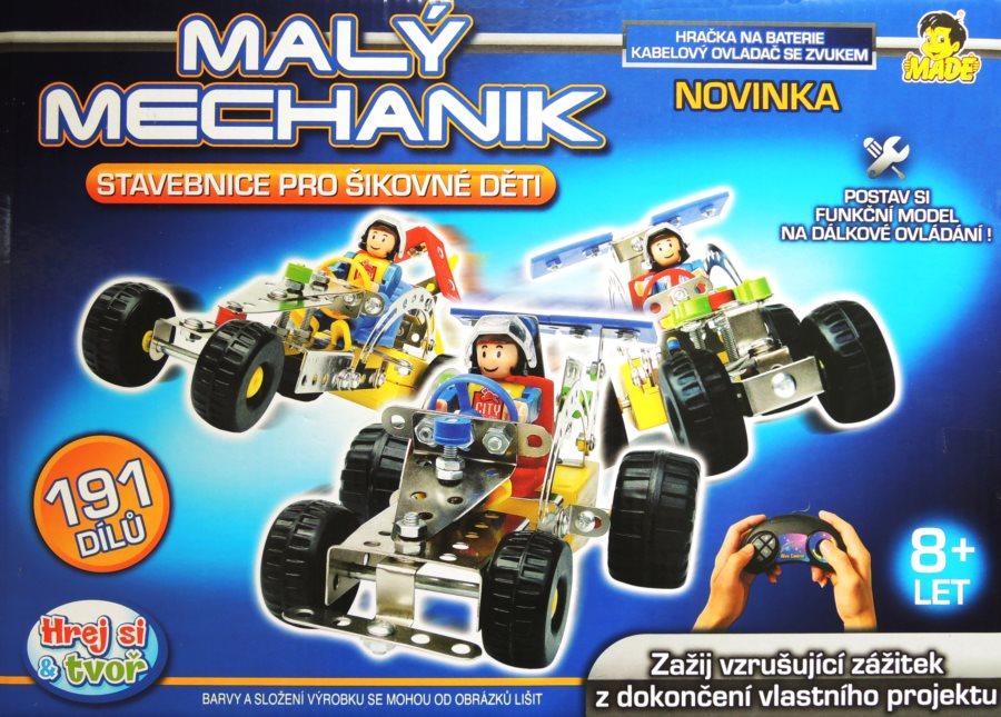 Stavebnice Malý mechanik - Auto na ovládání