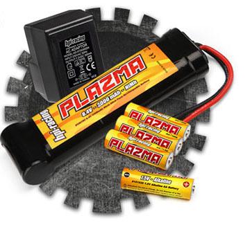 Plazma 8.4v balení baterií