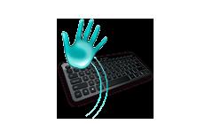 Detekce přiblížení rukou