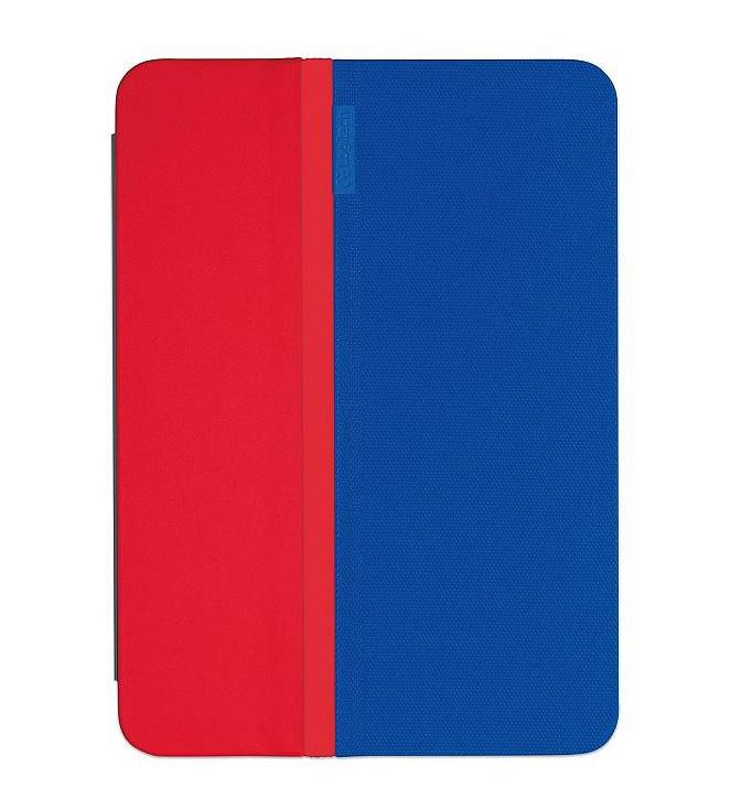 Zajímavá kombinace modré a červené barvy