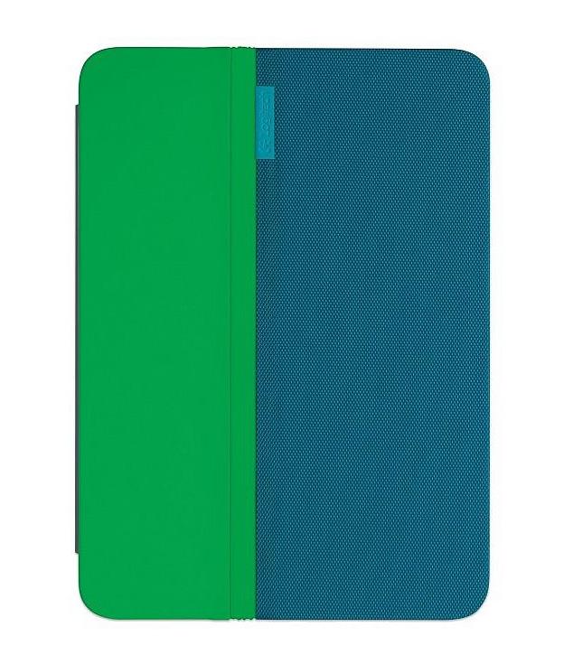 Kombinace zelené s modrou barvou