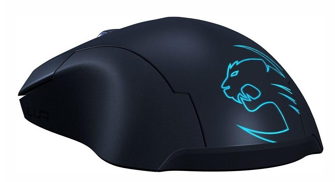 Pohled na logo myši