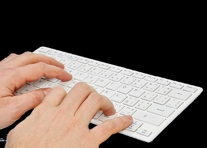 Pohodlné a rychlé psaní