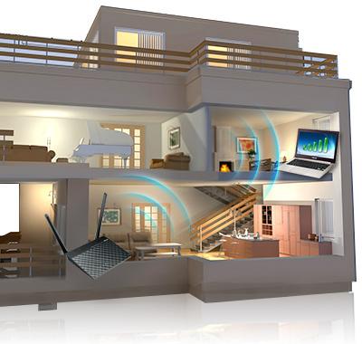 Plynulý internet v každém pokoji