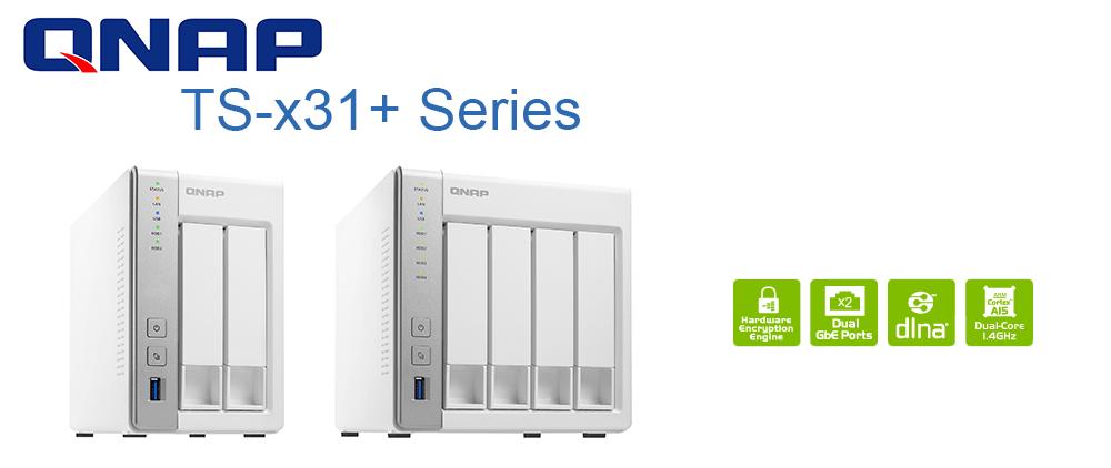 QNAP TS-x31+ Series