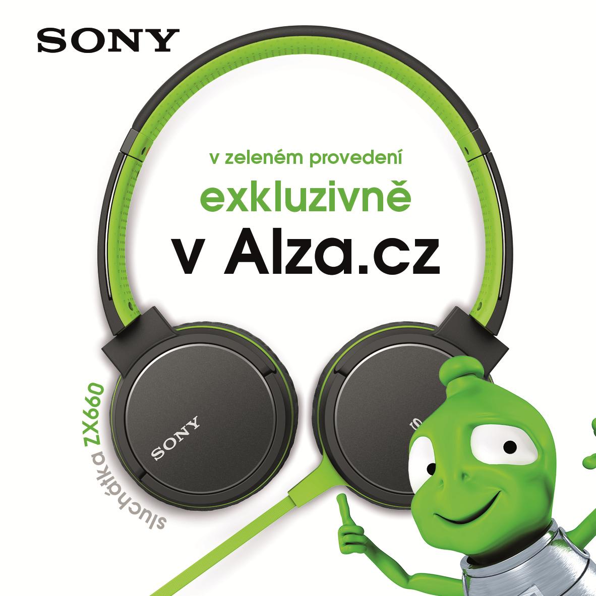Sluchátka Sony MDR-ZX660APG