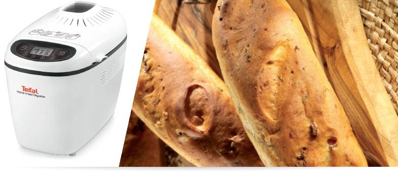 Domácí pekárna Tefal Home Bread Baguettes PF610838