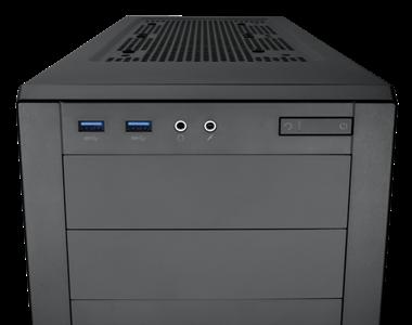 Čelní USB 3.0 porty
