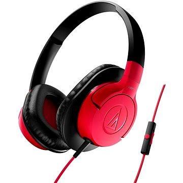 Audio-technica ATH-AX1iS červená