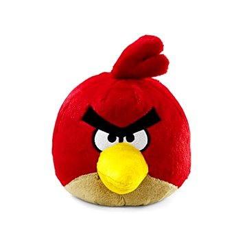 Rovio Angry Birds se zvukem 20cm Red