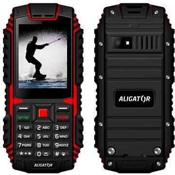 Aligator R12 eXtremo černo-červený