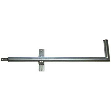 Tříbodový pozinkovaný držák, pro lodžie, levý, 900/200/400, max 60cm od zdi
