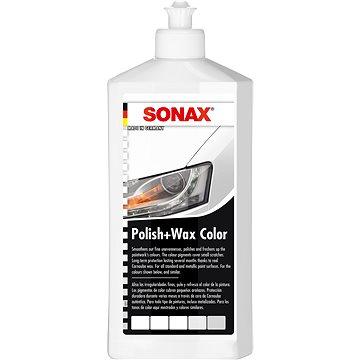 SONAX Polish & Wax COLOR bílá,500 ml