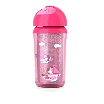 Philips AVENT láhev termo 260 ml, růžový