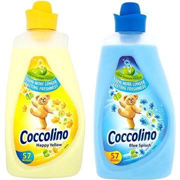 COCCOLINO Blue Splash 2L + Yellow 2L