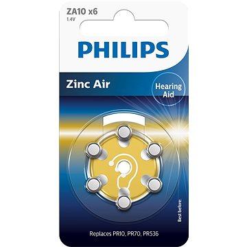 Philips baterie do naslouchadla 6ks (ZA10B6A/10)