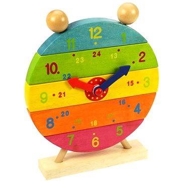 Dřevěné nasazovací hodiny